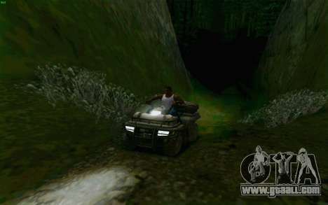 ATV of the Medal of Honor for GTA San Andreas side view