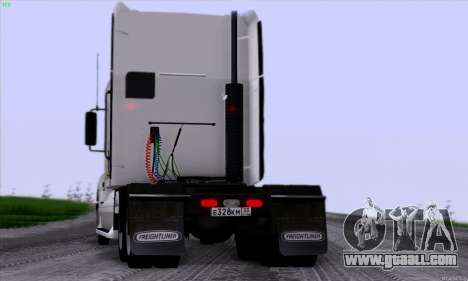 Freightliner Columbia for GTA San Andreas back view