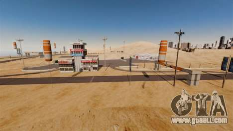 Location DesertDrift ProStreetStyle for GTA 4 second screenshot