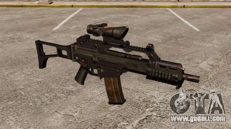 Automatic HK G36C v3 for GTA 4