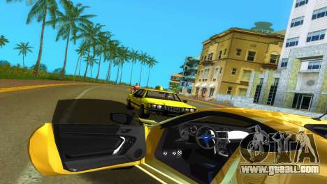 Subaru BRZ Type 5 for GTA Vice City upper view