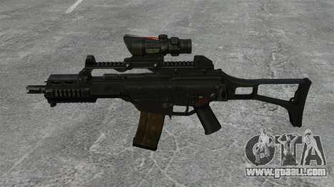 Automatic HK G36C v3 for GTA 4 third screenshot