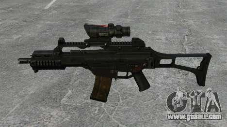 Automatic HK G36C v3 for GTA 4 third screenshot