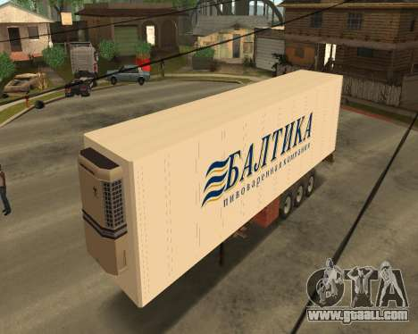 Reefer Baltic for GTA San Andreas left view