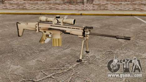 Automatic rifle Mk 17 SCAR-H for GTA 4
