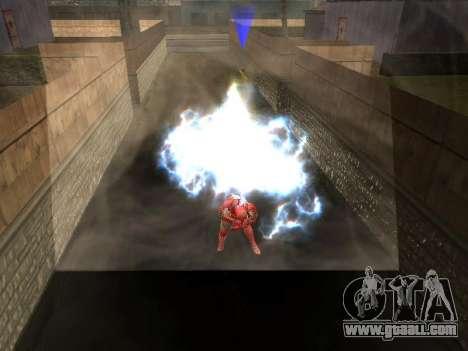 Impact of iron man on Earth for GTA San Andreas forth screenshot