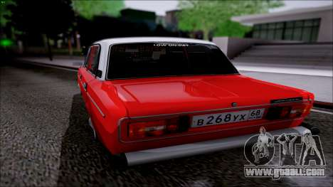 VAZ 2106 Retro for GTA San Andreas back left view