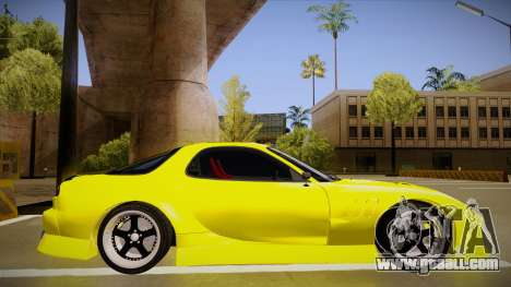 Mazda FD3S BN Sports for GTA San Andreas back left view
