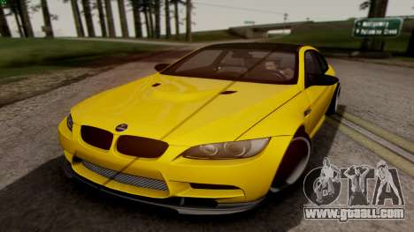 BMW M3 E92 Hamann for GTA San Andreas left view