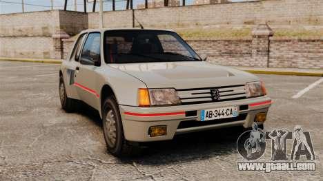 Peugeot 205 Turbo 16 for GTA 4