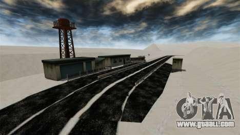 Snowy location Sakina for GTA 4 ninth screenshot