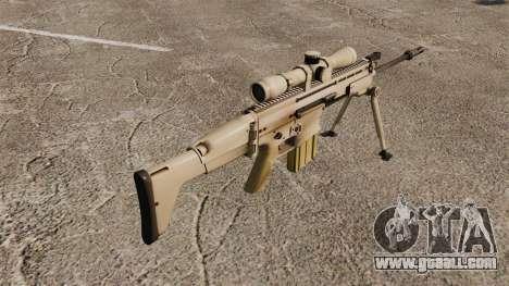 Automatic rifle Mk 17 SCAR-H for GTA 4 second screenshot