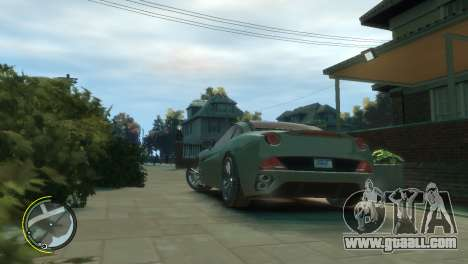 Ferrari California [EPM] for GTA 4 left view