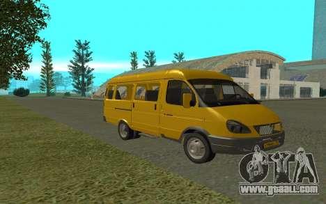 Gazelle 3221 for GTA San Andreas