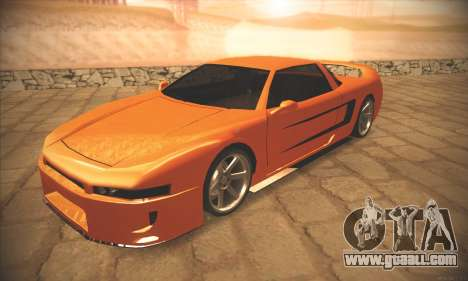 Infernus One for GTA San Andreas