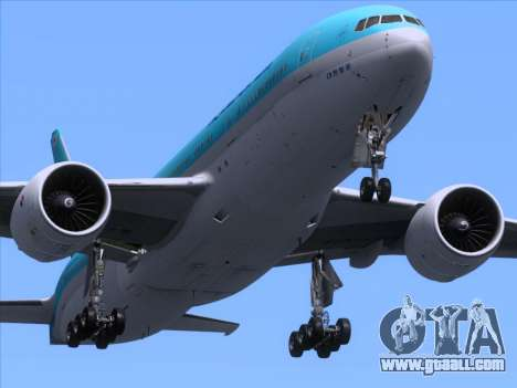Boeing 777-2B5ER Korean Air for GTA San Andreas interior