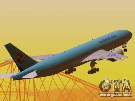 Boeing 777-2B5ER Korean Air for GTA San Andreas