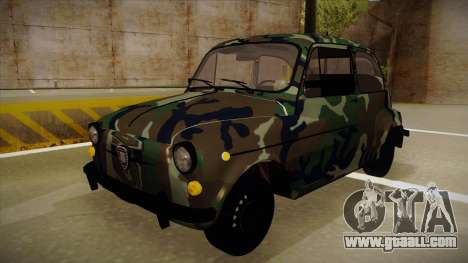 Zastava 750 Camo for GTA San Andreas