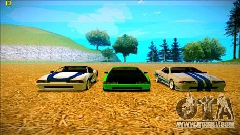 Paintjobs EQG Version for Elegy for GTA San Andreas fifth screenshot