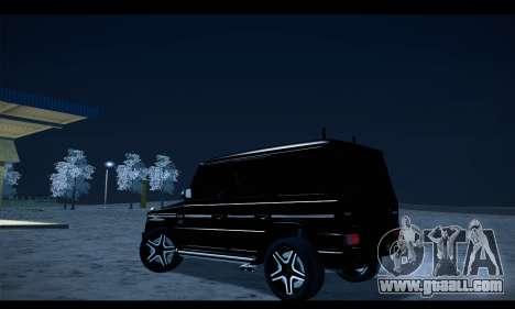 Mercedes-Benz G500 Gelandewagen for GTA San Andreas left view