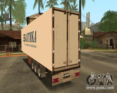 Reefer Baltic for GTA San Andreas back view