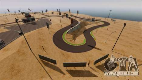Location DesertDrift ProStreetStyle for GTA 4 third screenshot