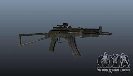 Automatic AKS74U v2 for GTA 4 third screenshot