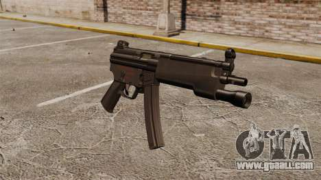 HK MP5 submachine gun for GTA 4