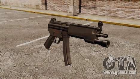 HK MP5 submachine gun for GTA 4
