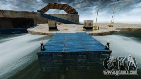 Naval Base for GTA 4 second screenshot