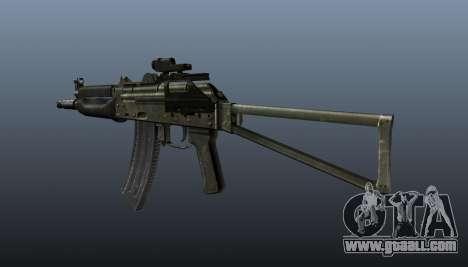 Automatic AKS74U v2 for GTA 4 second screenshot