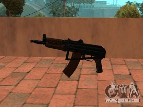 AKS-74U mm for GTA San Andreas