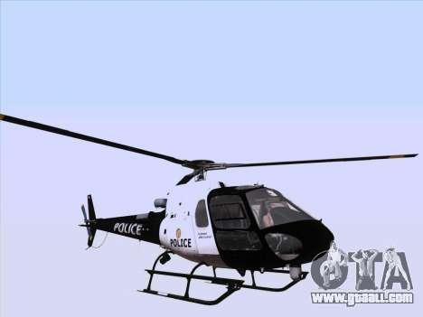 Police Maverick GTA 5 for GTA San Andreas