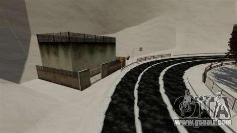 Snowy location Sakina for GTA 4 third screenshot