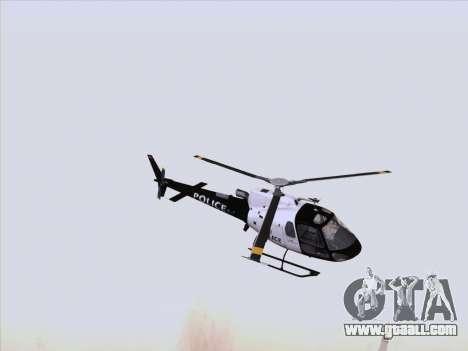 Police Maverick GTA 5 for GTA San Andreas left view
