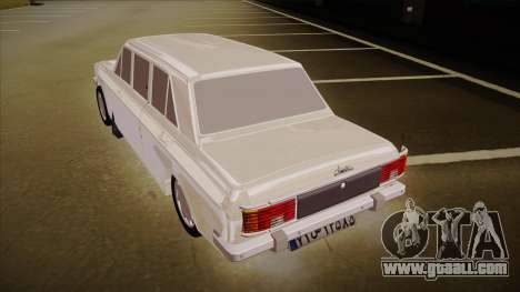 Paykan Limousine for GTA San Andreas back view