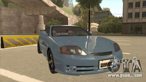 Hyundai Coupe V6 Soft Tuned v1 for GTA San Andreas left view