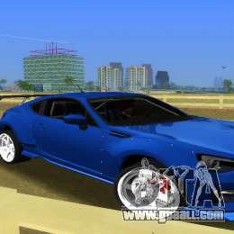 Subaru BRZ Type 5 for GTA Vice City back left view