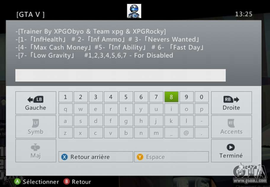 GTA 5 Team XPG GTA V Trainer 9 third screenshot