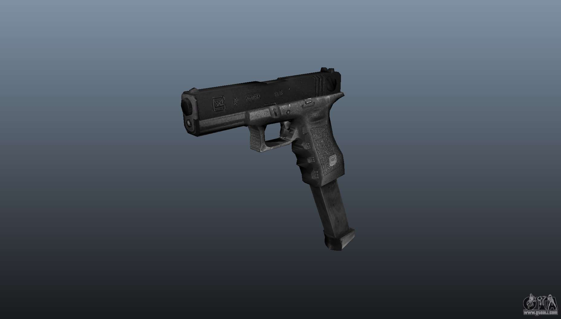 Glock 18 Akimbo Mw2 V2 For Gta 4