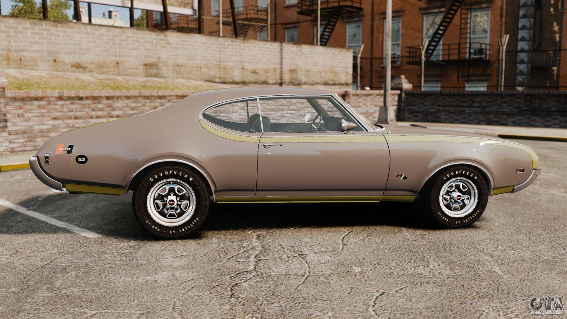1969 Oldsmobile Cutlass S Technical Specifications and Dimensions