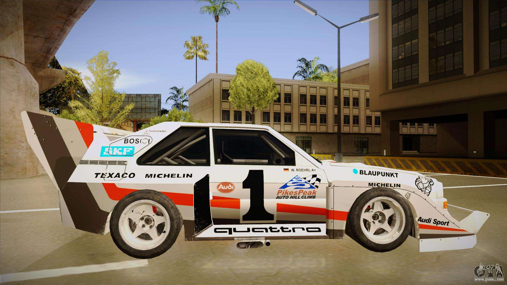 audi quattro s1 pikes peak for gta san andreas. Black Bedroom Furniture Sets. Home Design Ideas