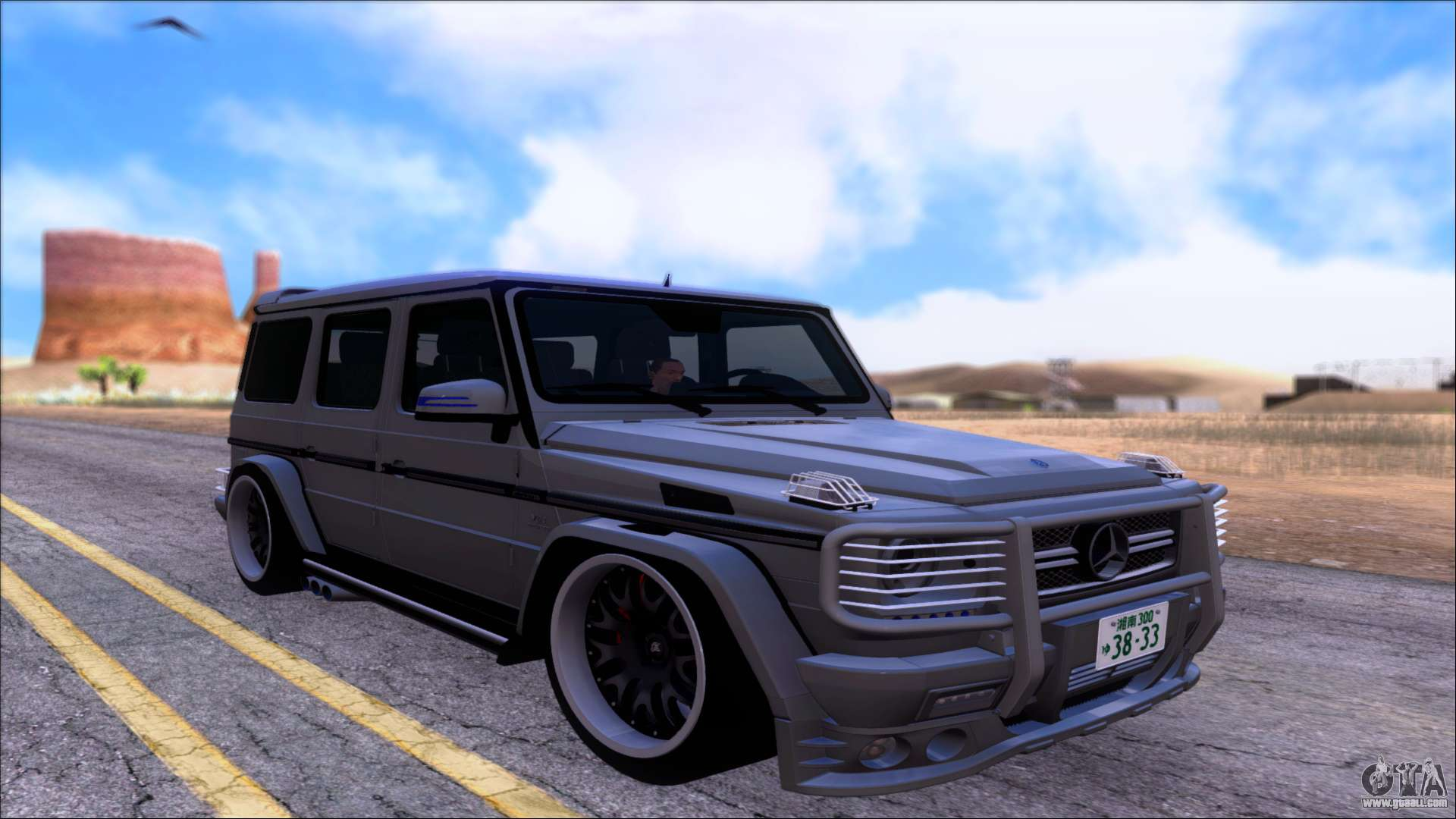 Mercedes benz g65 amg hamann for gta san andreas for Mercedes benz g65