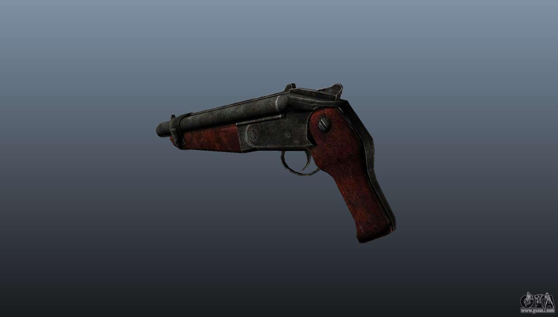 Sawed Off Shotgun V2 For Gta 4
