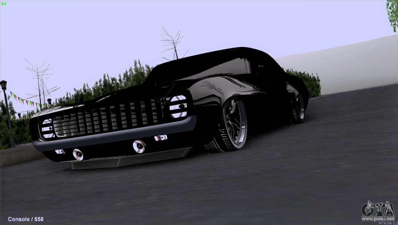 Chevrolet Camaro 1969 Pro Sport for GTA San Andreas