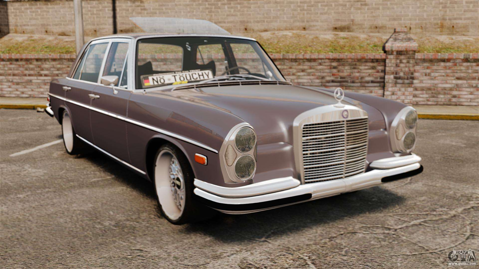 Mercedes benz 300 sel 1971 for gta 4 for Mercedes benz 300s