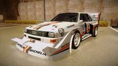 Audi Quattro S1 Pikes Peak for GTA San Andreas