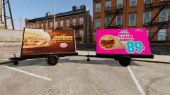 The new advertising on wheels