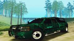 Chevrolet Silverado 3500 Military for GTA San Andreas