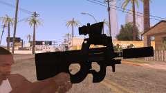 P90 AEG with flashlight